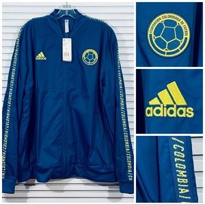 Adidas Colombia National Team Anthem Jacket